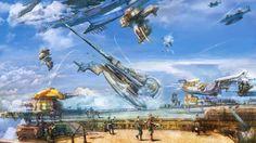 Final fantasy xii vaan airship vehicles wallpaper   AllWallpaper