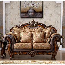 Seville Upholstered Loveseat