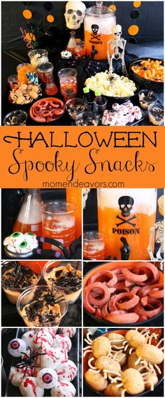 Awesome ideas for a whole fun Mad Scientist Halloween Party, complete with lots of great spooky snack ideas! #SpookySnacks Sponsored by @walmart. AD