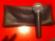Shure SM58 mic.