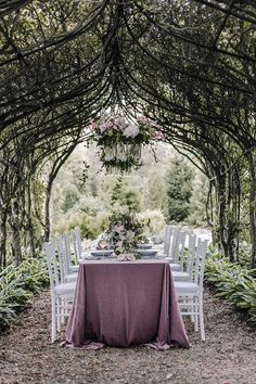 Fairytale Garden Wedding Table