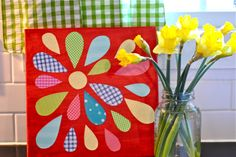 New Every Morning: Easy Mod Podge Flower Craft