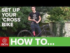 How To Set Up Your Cyclo-Cross Bike - YouTube Road Bike, Baseball Cards, Biking, Youtube, Road Racer Bike, Bicycling, Motorcycles, Cycling, Youtubers