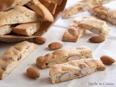 Croquants aux amandes (biscuits provençaux – sans beurre) – Jujube en cuisine
