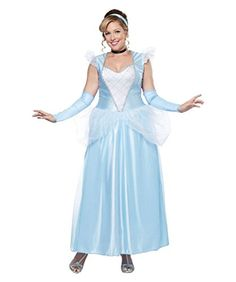 Classic Cinderella Plus size Women Costume