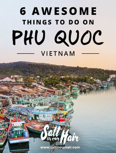 Phu Quoc awesome things to do pin