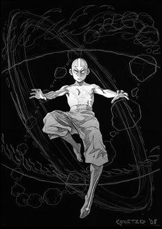 148 Avatar The Last Airbender Aang Fight Japan Anime Poster Avatar Aang, Avatar Airbender, Avatar Legend Of Aang, Team Avatar, Aang The Last Airbender, Avatar Tattoo, Legend Of Korra, The Last Avatar, Avatar Series