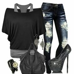 #All i need is BoyFriend jeans that are perfectly faded & torn the way i want them! It's not That HARD to achieve..