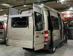 Roadtrek Sprinter Camper Van With Slide Out