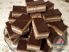 Csokis-túrós süti Hungarian Cake, Biscuits, Good Food, Cooking Recipes, Sweets, Candy, Chocolate, Foods, Oreos