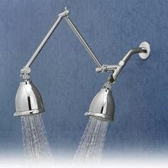 Adjustable Sting Ray 2 Shower Heads. $102 | For The Home | Pinterest |  Double Shower Heads, Double Shower And House