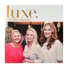 LUXE    @luxemagazine teamed up with @thg_paris to celebrate their collaboration with @baccarat_legendary, Beyond Crystal. We were there with K+J publicist Joanne Gibbs and Luxe features editor Miranda Agee! #SchoellerDarlingDesign #Luxe #InteriorDesign #Luxury #Design #Inspiration #Modern #HomeDecor