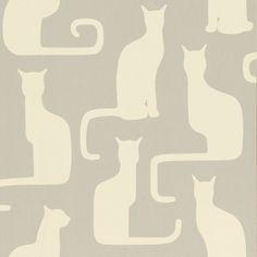 Sanderson - Omega Cats wallpaper (UK based)