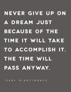 Never give up #entrepreneur #startup