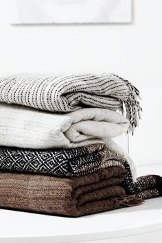 Designer Blankets - www.BlanketsnMore.com - Add designer elegance to any home with this faux fur throw. Innovative fabrics provide luxury and function. A fantastic accessory to drape on a bed or favorite chair and an enery saver on a chilly evening. Warm yet light weight.