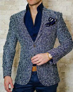 S by Sebastian Tweed Blu Cascata Sport Jacket! Get the look. #sebastiancruzcouture
