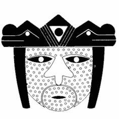 Antonio Grass, símbolos, diseños, precolombinos, colombianos Jaguar, True Art, Creative, Cards, Indian, Google, Decor, Indian Tattoos, Aboriginal Art