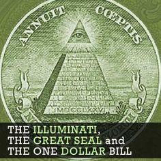 The Illuminati Symbol, the Great Seal and the One Dollar Bill Illuminati Symbols, Tower Of Babel, Order Of The Day, Black History Facts, One Dollar, Catholic