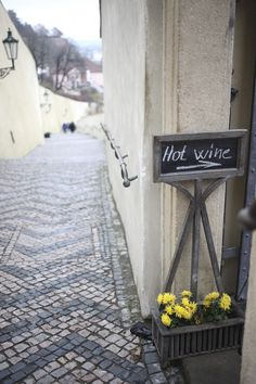 J for Jamie Blog | Hot wine at the Prague castle in the Czech Republic