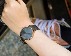 Adding a little twist to a classic Nixon style, the Porter Leather watch gets a rosegold & surplus treatment just in time for spring. Forward in thinking but rooted in traditional style, The Porter's bold printed dial makes a statement without all of the excess.  #Nixon #Watch #Spring #Leather #Porter