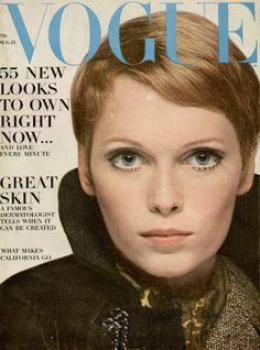 Mia Faroww. US Vogue August 1967