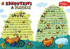 SYLVA FRANCOVÁ: Kreslené pohádky Projects For Kids, Diy For Kids, Montessori, Preschool Activities, Farm Animals, Fairy Tales, Kindergarten, Language, Classroom