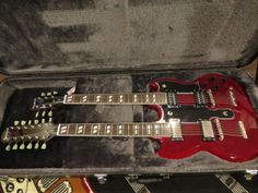 Epiphone SG G-1275 Custom double neck Electric Guitar USED but REAL NICE!