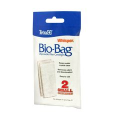 Filters for Waterfall Aquarium - AmazonSmile : Tetra 25900 Whisper Bio-Bag Cartridge, Small, 2-Pack : Aquarium Filters : Pet Supplies