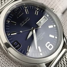 Up close and personal with Seiko Best Looking Watches, Affordable Watches, Seiko Watches, Omega Watch, How To Look Better, Living Room, Luxury, Accessories, Clocks