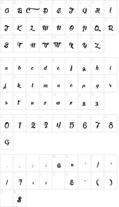 Character Map, Free Fonts Download, Typography Fonts, Lazy, Stencils, Weddings, Dog, Alphabet Design, Lyrics