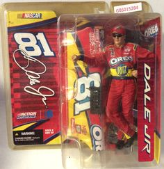 (TAS032095) - McFarlane Toys Nascar Action Figure - Oreo #81 Dale Earnhardt Jr
