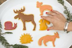 More decorating ideas for my Ikea cookie cutters