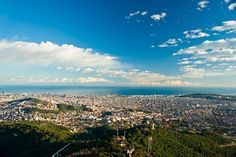 Barcelona - Discover the Catalan capital from the air. Take a cable car or climb on one of the public rooftops. The views are outstanding.