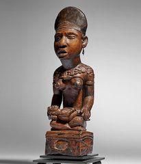 Objets Kongo Yombe, pfemba / phemba
