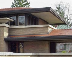 Griggs residence tacoma washington frank lloyd wright for Meyer may house floor plan