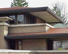 Griggs residence tacoma washington frank lloyd wright for Meyer may house floor plan