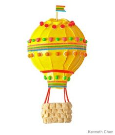 Hot Air Balloon Birthday Cake Design How to make a hot air balloon birthday cake with Runts Balloon Birthday Cakes, Cool Birthday Cakes, Balloon Party, Birthday Ideas, Balloon Crafts, Balloon Ideas, Summer Birthday, Birthday Stuff, Baby Birthday
