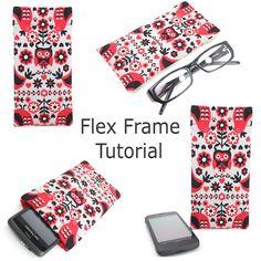 Hello Sugar Cane: Handmade Flex Frame Pouch Tutorial