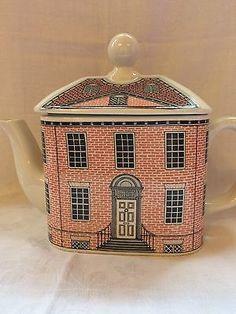 Large Carlton Ware Georgian House Tea Pot