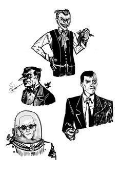 Gotham Freaks 2 by Nephthys9