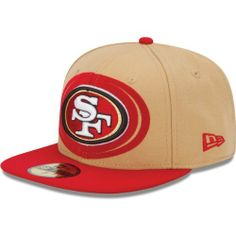 Men's New Era San Francisco 49ers Over Flock 59FIFTY? Structured Fitted Hat by New Era. $36.97. Team-colored domeContrast top button and flat brim. NFL® team logo embroidered on front and back; New Era® flag on left. Structured, fitted hat. Made in China. Ventilation eyelets Traditional panel construction Officially licensed. Double your diehard NFL® fandom in this spirited men's Over Flock 59FIFTY® structured fitted hat from New Era®! It's decorated in yo...