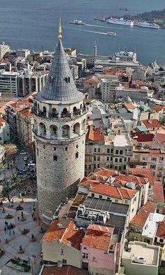 Galata Kulesi , Istanbul