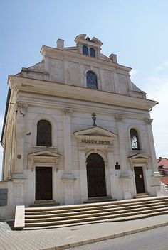 Synagoge ( now church ), Kladno, Chech republic Synagogue Architecture, Jewish History, Place Of Worship, Cathedrals, Mosque, Czech Republic, Places To See, Israel, Temple