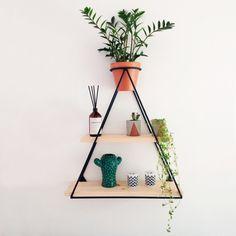 Prateleira triangulo Decor Interior Design, Interior Decorating, Little Houses, Shelves, Bedroom, Wood, Bullet, 1, Home Decor