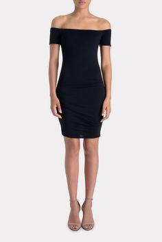 VELVET Mora Off The Shoulder Gauzy Whisper Dress | Available at Keaton Row