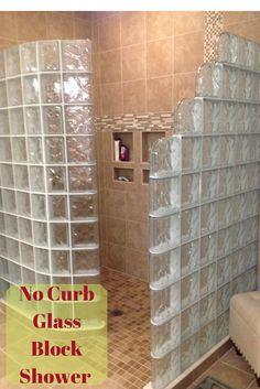 Glass Block Shower Designs On Pinterest 76 Pins