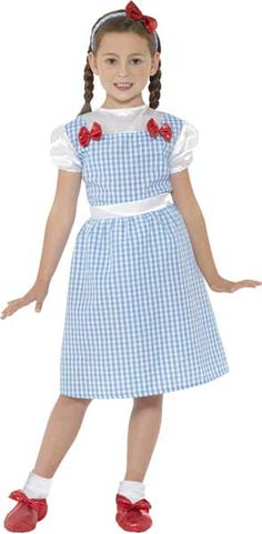 Country Girl Costume Dorothy Costume Kids, The Wizard Of Oz Costumes, Girl  Costumes,