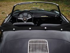 1960 Porsche 356 B Roadster by Drauz – RM Sotheby's From its humble beginnings, Porsche's 356 evolved into the car that established both Porsch… Porsche 356, Volkswagen Bus, Vw Camper, Volkswagen Beetles, Best Luggage, Janis Joplin, Butterfly Dragon, Monarch Butterfly, Papillons