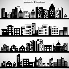 city silhouette - Buscar con Google