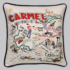 Carmel By-the-Sea Pillow